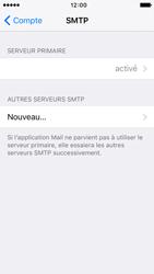 Apple iPhone SE - E-mail - Configuration manuelle - Étape 22
