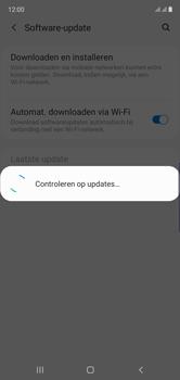 Samsung Galaxy Note 10 - software - update installeren zonder pc - stap 6