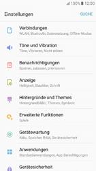 Samsung Galaxy A3 (2017) - WLAN - Manuelle Konfiguration - Schritt 4