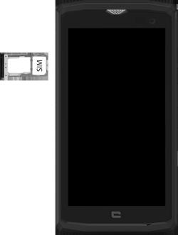 Crosscall Core X3 - Premiers pas - Insérer la carte SIM - Étape 4