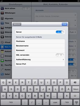 Apple iPad 4 - E-Mail - Konto einrichten - Schritt 17