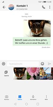 Huawei Mate 10 Pro - Android Pie - MMS - Erstellen und senden - Schritt 20