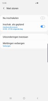 Samsung Galaxy S10 - Instellingen -