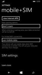 Microsoft Lumia 535 - Internet and data roaming - Manual configuration - Step 6