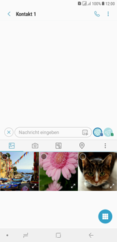 Samsung Galaxy J4+ - MMS - Erstellen und senden - Schritt 11