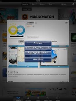 Apple iPad Retina - Apps - Einrichten des App Stores - Schritt 7