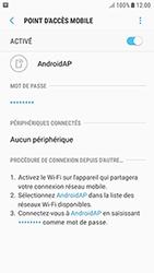 Samsung Galaxy J3 (2017) - Internet et connexion - Partager votre connexion en Wi-Fi - Étape 12