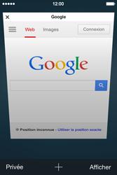 Apple iPhone 4s iOS 8 - Internet - Navigation sur Internet - Étape 11