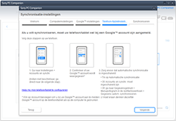 Sony Xperia XA - Android Nougat - Software - Synchroniseer met PC - Stap 9