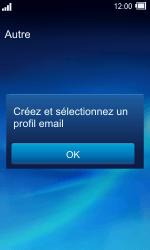 Sony TXT Pro - E-mail - Configuration manuelle - Étape 4