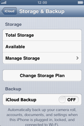 Apple iPhone 3GS - Applications - Configuring the Apple iCloud Service - Step 10