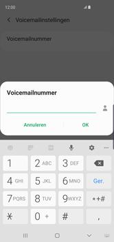 Samsung galaxy-s10-dual-sim-sm-g973f - Voicemail - Handmatig instellen - Stap 12