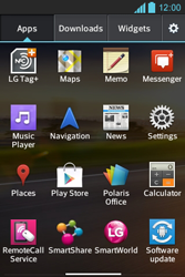 LG E610 Optimus L5 - Bluetooth - Pair with another device - Step 3