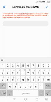 Huawei Mate 10 Pro - SMS - Configuration manuelle - Étape 7