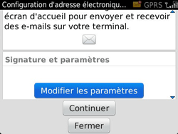 BlackBerry 9360 Curve - E-mail - Configuration manuelle - Étape 9