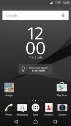 Sony Xperia Z5 - E-mail - manual configuration - Step 1
