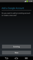 LG D955 G Flex - Applications - Setting up the application store - Step 4