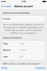 Apple iPhone 4 S - iOS 7 - apps - account instellen - stap 14