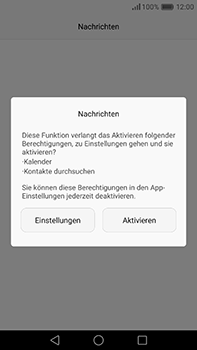 Huawei P9 Plus - SMS - Manuelle Konfiguration - Schritt 3