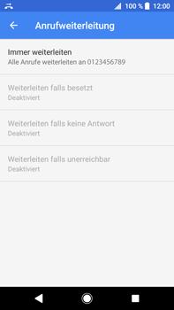 Sony Xperia XA2 Ultra - Anrufe - Rufumleitungen setzen und löschen - Schritt 11