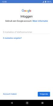 Sony Xperia XZ3 - Applicaties - Account instellen - Stap 5