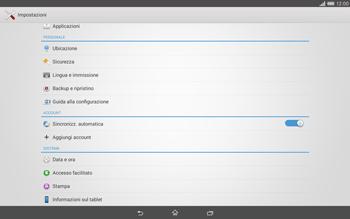 Sony Xperia Tablet Z2 LTE - Software - Installazione degli aggiornamenti software - Fase 5