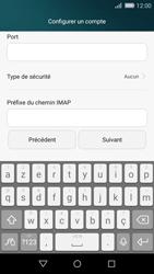 Huawei P8 Lite - E-mail - Configuration manuelle - Étape 13