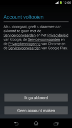 Sony Xperia M2 - apps - account instellen - stap 15