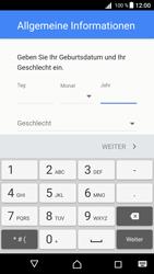 Sony Xperia Z5 Compact (E5823) - Android Nougat - Apps - Konto anlegen und einrichten - Schritt 8