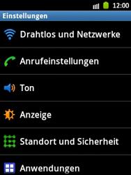 Samsung Galaxy Pocket - Netzwerk - Manuelle Netzwerkwahl - Schritt 4