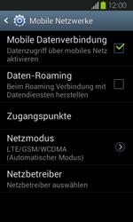 Samsung Galaxy Express - Internet und Datenroaming - Deaktivieren von Datenroaming - Schritt 7