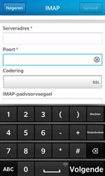 BlackBerry Z10 - E-mail - Account instellen (IMAP zonder SMTP-verificatie) - Stap 11