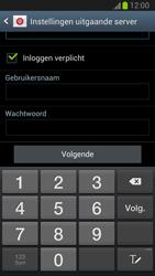 Samsung N7100 Galaxy Note II - E-mail - handmatig instellen - Stap 11
