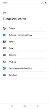 Samsung Galaxy A51 - E-Mail - 032b. Email wizard - Yahoo - Schritt 8