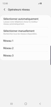 Samsung Galaxy S10e - Réseau - Sélection manuelle du réseau - Étape 10
