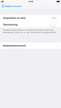 Apple iPhone 6 Plus - iOS 11 - Netwerk - 4G/LTE inschakelen - Stap 5
