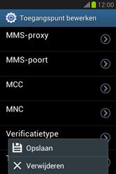 Samsung S6790 Galaxy Fame Lite - Internet - Handmatig instellen - Stap 16