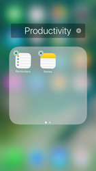 Apple iPhone 6 iOS 10 - Getting started - Personalising your Start screen - Step 5