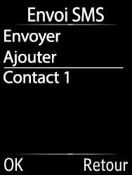 Doro 6620 - Contact, Appels, SMS/MMS - Envoyer un SMS - Étape 9