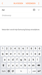 Samsung Galaxy A3 (2017) - Android Marshmallow - e-mail - hoe te versturen - stap 6