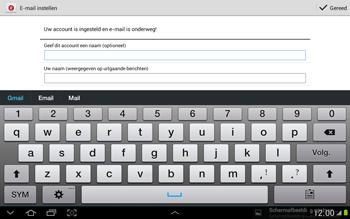 Samsung N8000 Galaxy Note 10-1 - E-mail - e-mail instellen: POP3 - Stap 17