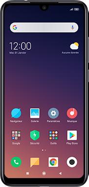 Xiaomi RedMi Note 7 - Téléphone mobile - Comment effectuer une réinitialisation logicielle - Étape 2