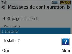 Samsung S3350 Chat 335 - Internet - Configuration automatique - Étape 6
