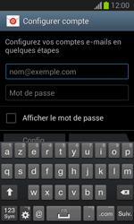 Samsung Galaxy Trend Lite - E-mail - configuration manuelle - Étape 5