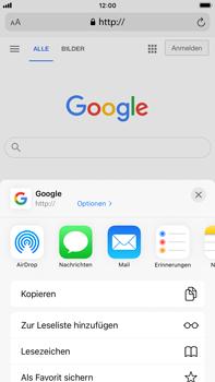 Apple iPhone 8 Plus - iOS 14 - Internet und Datenroaming - Verwenden des Internets - Schritt 18