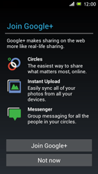 Sony Xperia J - Applications - Setting up the application store - Step 9