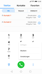Huawei P10 - Android Oreo - Anrufe - Anrufe blockieren - Schritt 4
