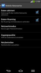 LG G Flex - Ausland - Im Ausland surfen – Datenroaming - 0 / 0