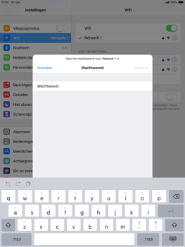 Apple ipad-air-10-5-inch-2019-model-a2123 - WiFi - Handmatig instellen - Stap 6