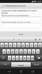 Sony Xperia Z - E-mail - Configurazione manuale - Fase 14